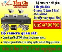 Bộ 5 camera