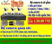 Bộ 6 camera